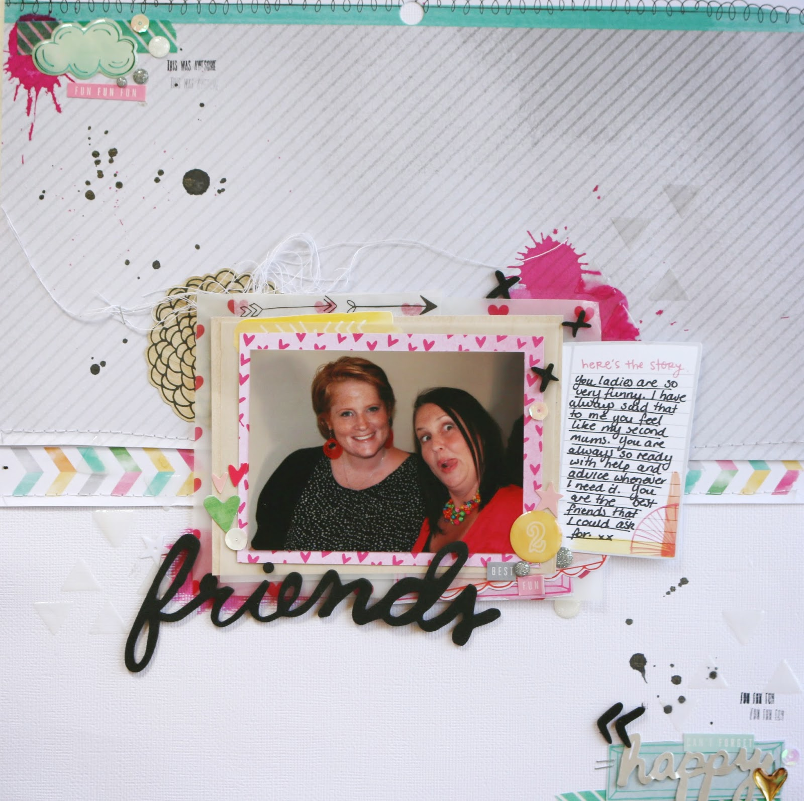 Friends ~ 12×12 Layout