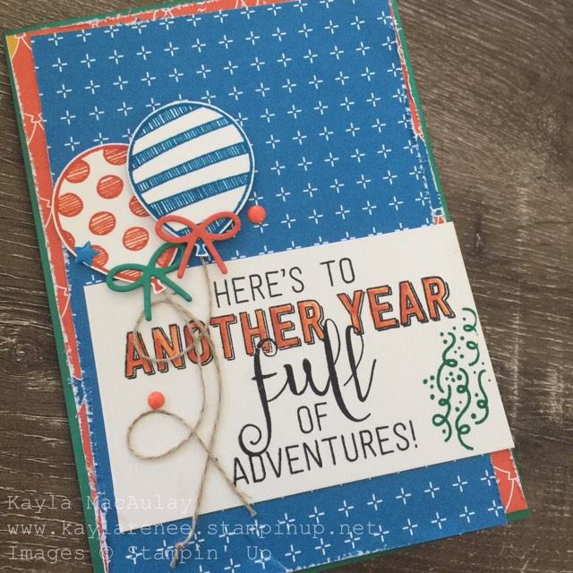 Case This Card #CTC018 ~ Another Year Full of Adventures