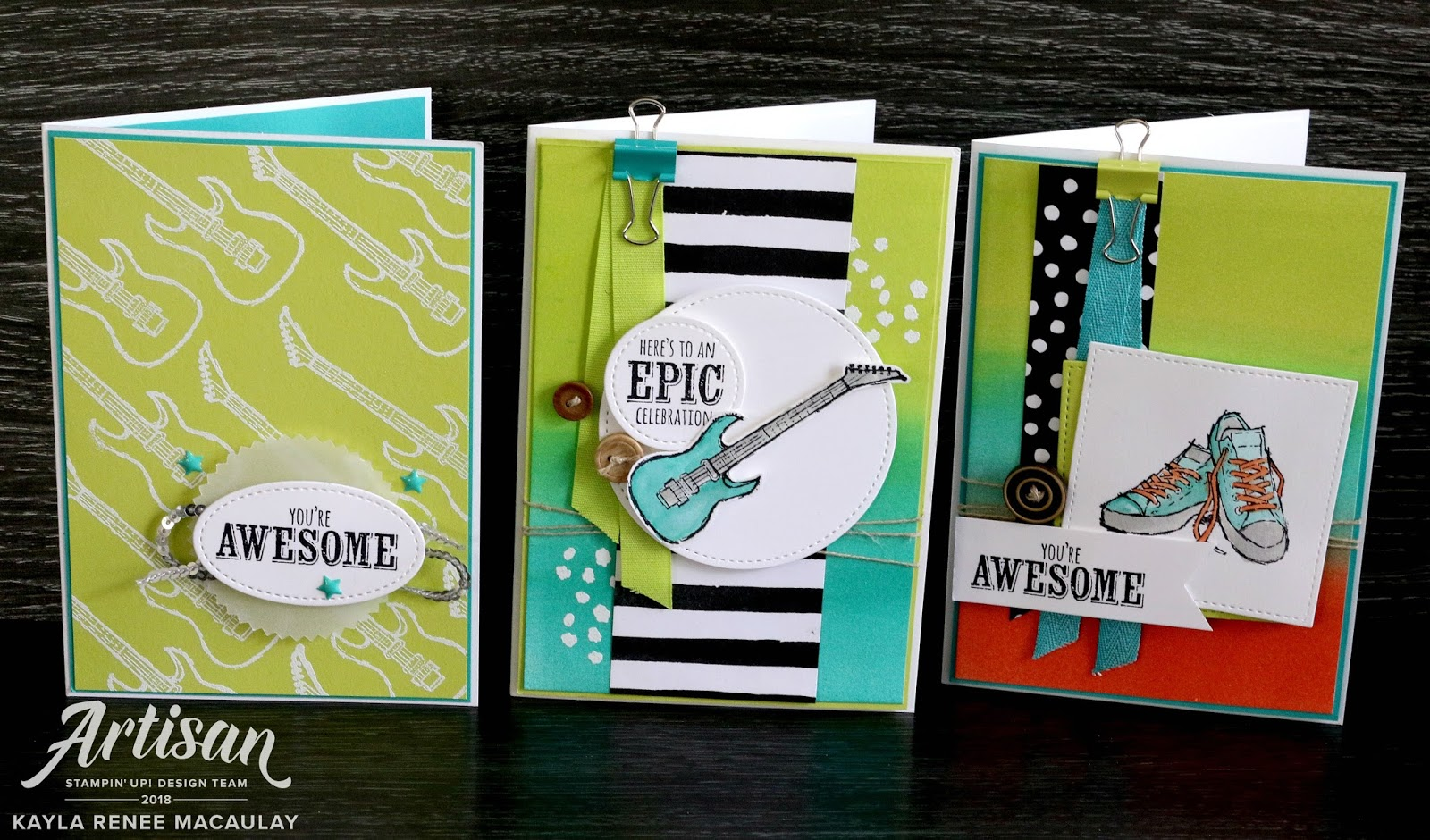 Epic Celebration – Stampin' Up! Artisan Blog Hop