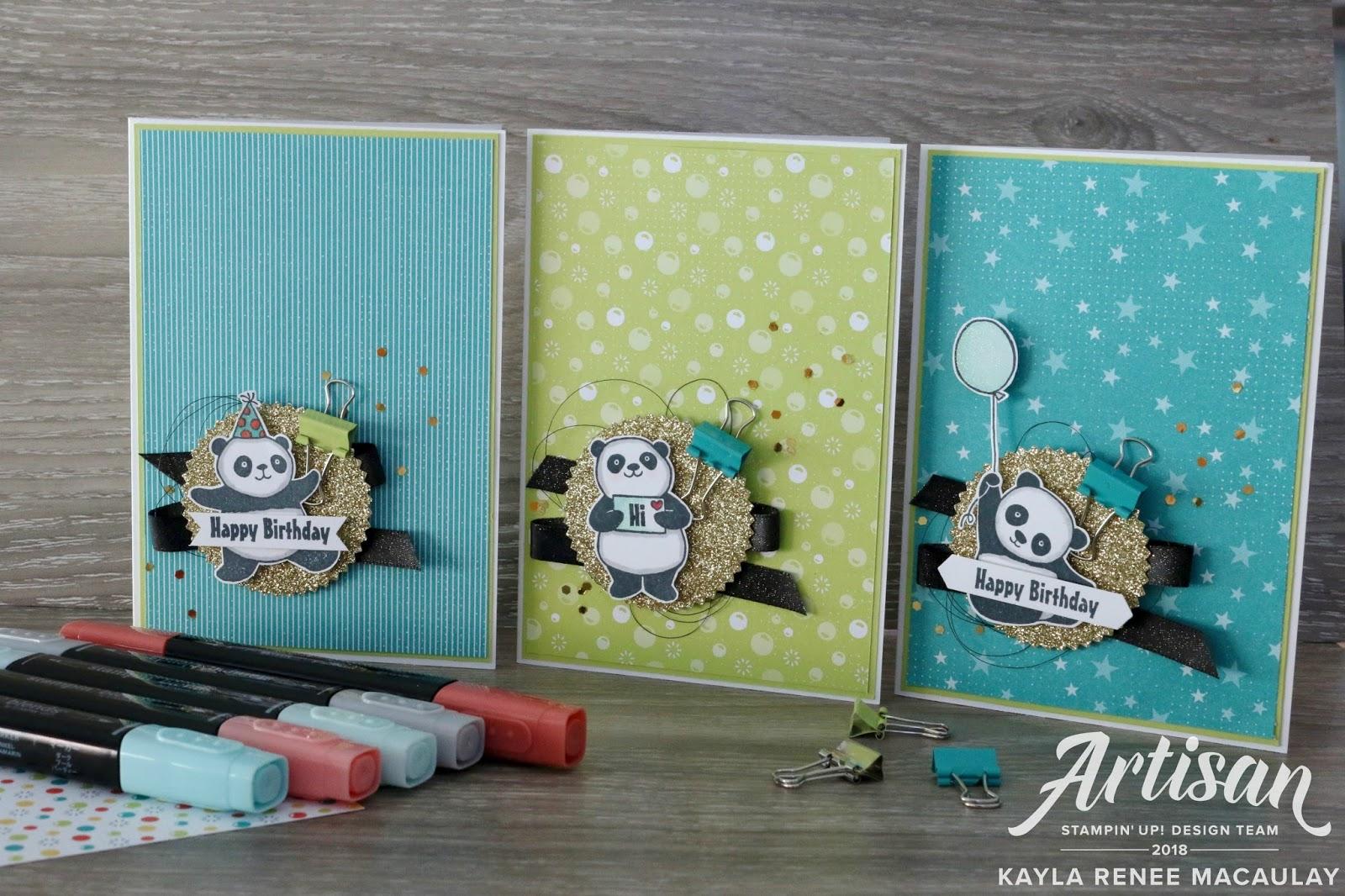 Party Pandas ~ Crazy Crafters Sale-a-Bration/Occasions Blog Hop!