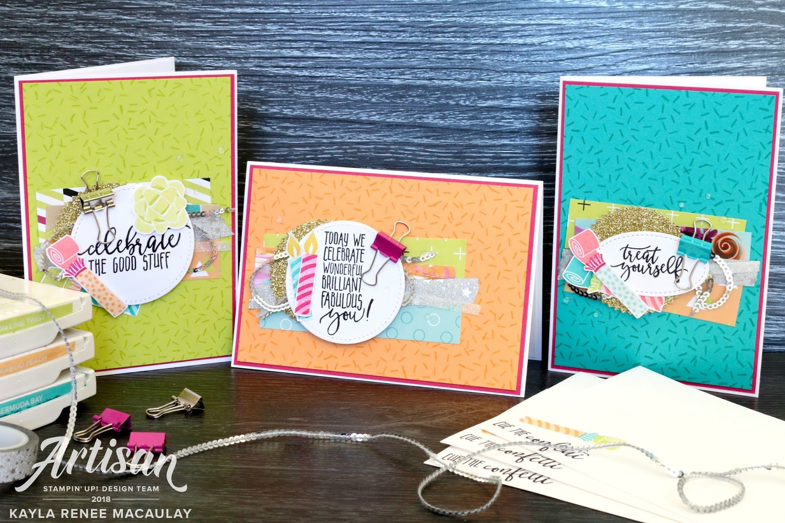 Picture Perfect Party Birthday Cards ~ International Blog Highlight January