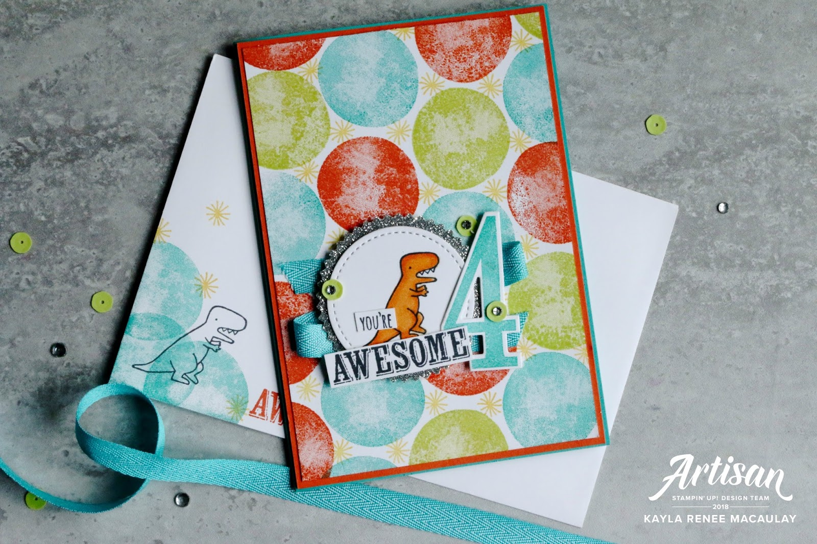 You're Awesome ~ Birthday Card
