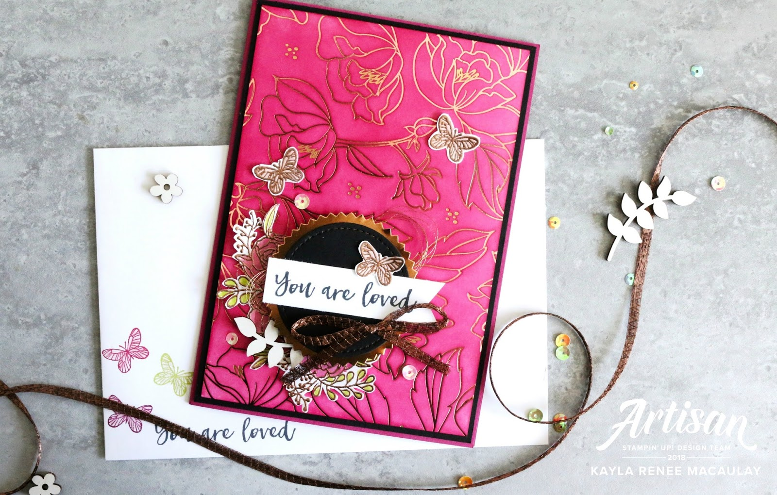 You Are Loved ~ Sale-a-Bration Card