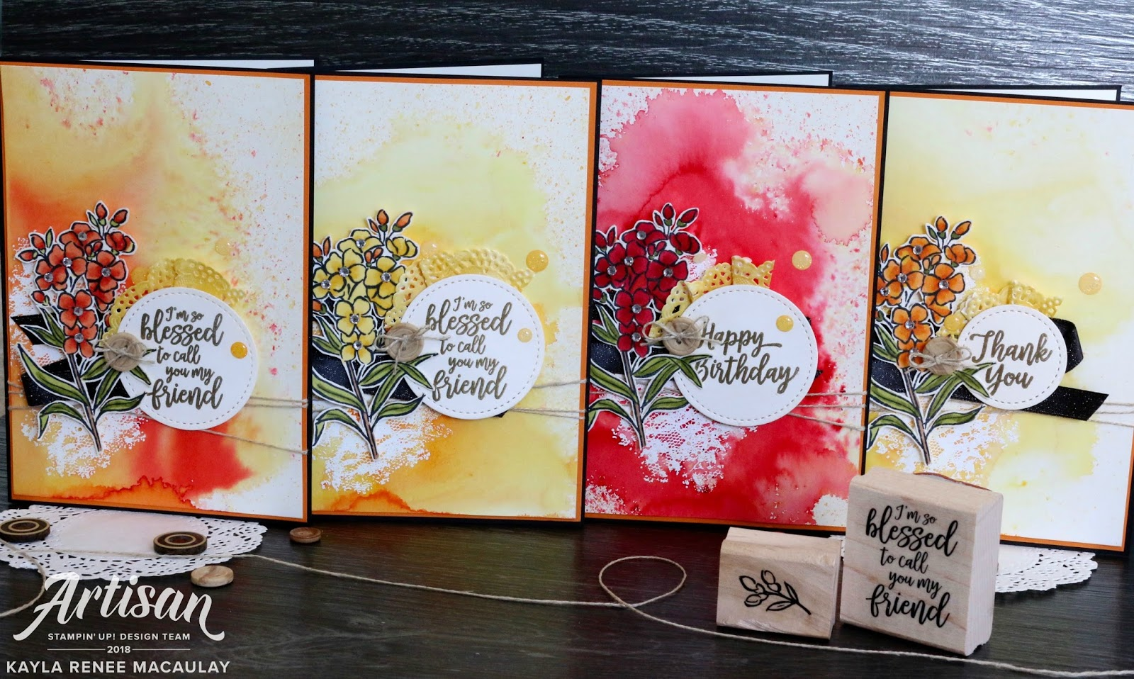 Southern Serenade Cards ~ For the Love of Creating Blog Hop