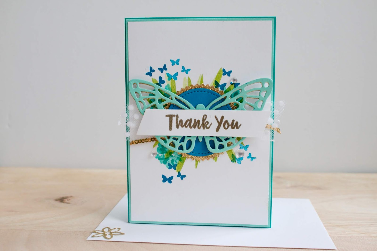 Thank you ~ Abstract Impressions Card