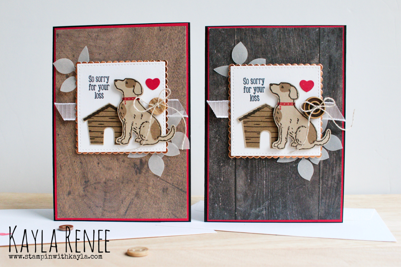 Happy Tails ~ Dog Sympathy Cards