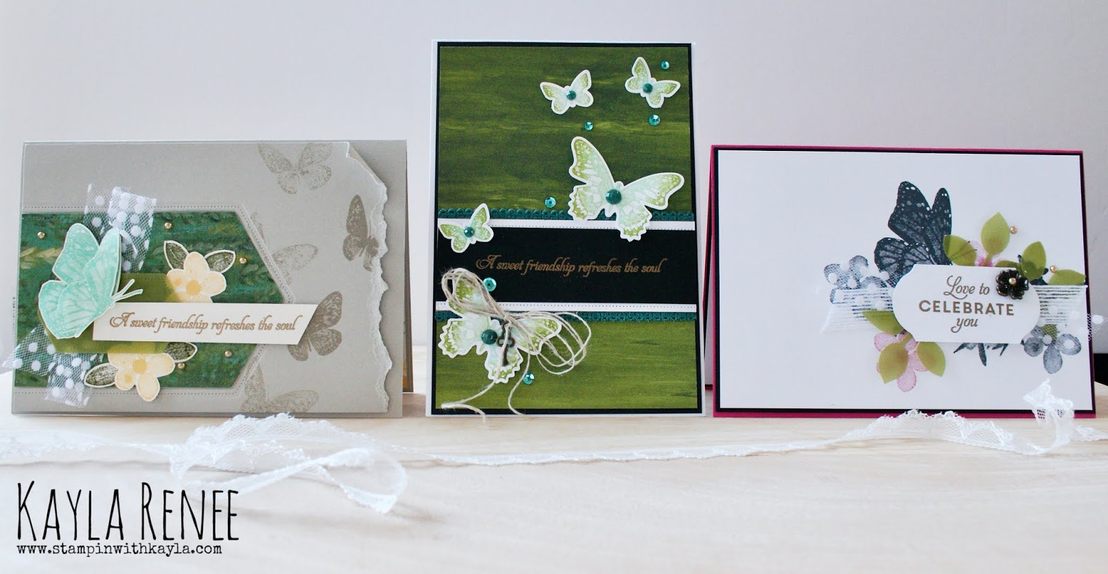 Butterfly Wishes  ~ Cards & Video Tutorial
