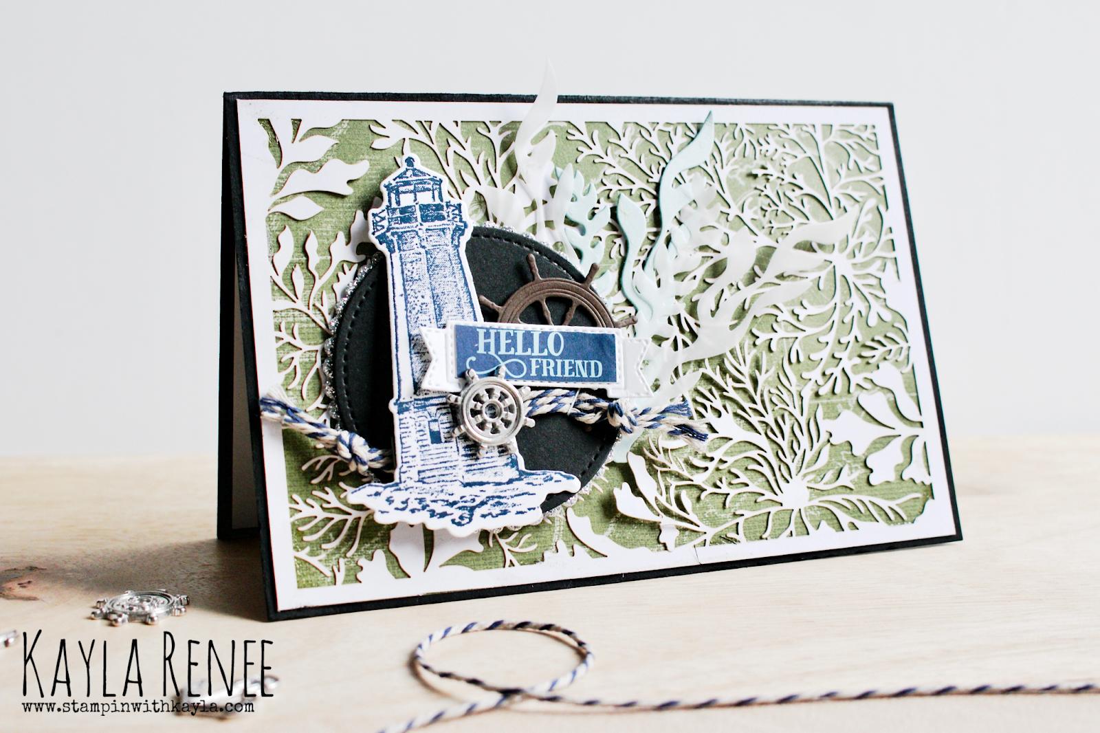Sailing Home ~ Lighthouse Card