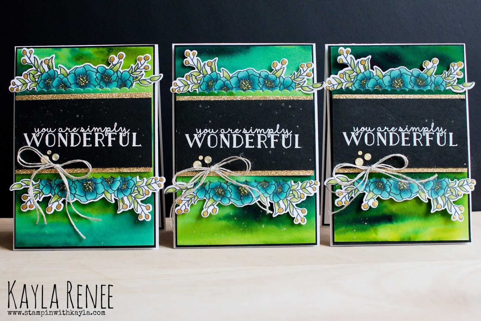 You Are Simply Wonderful ~ Bridesmaids Cards