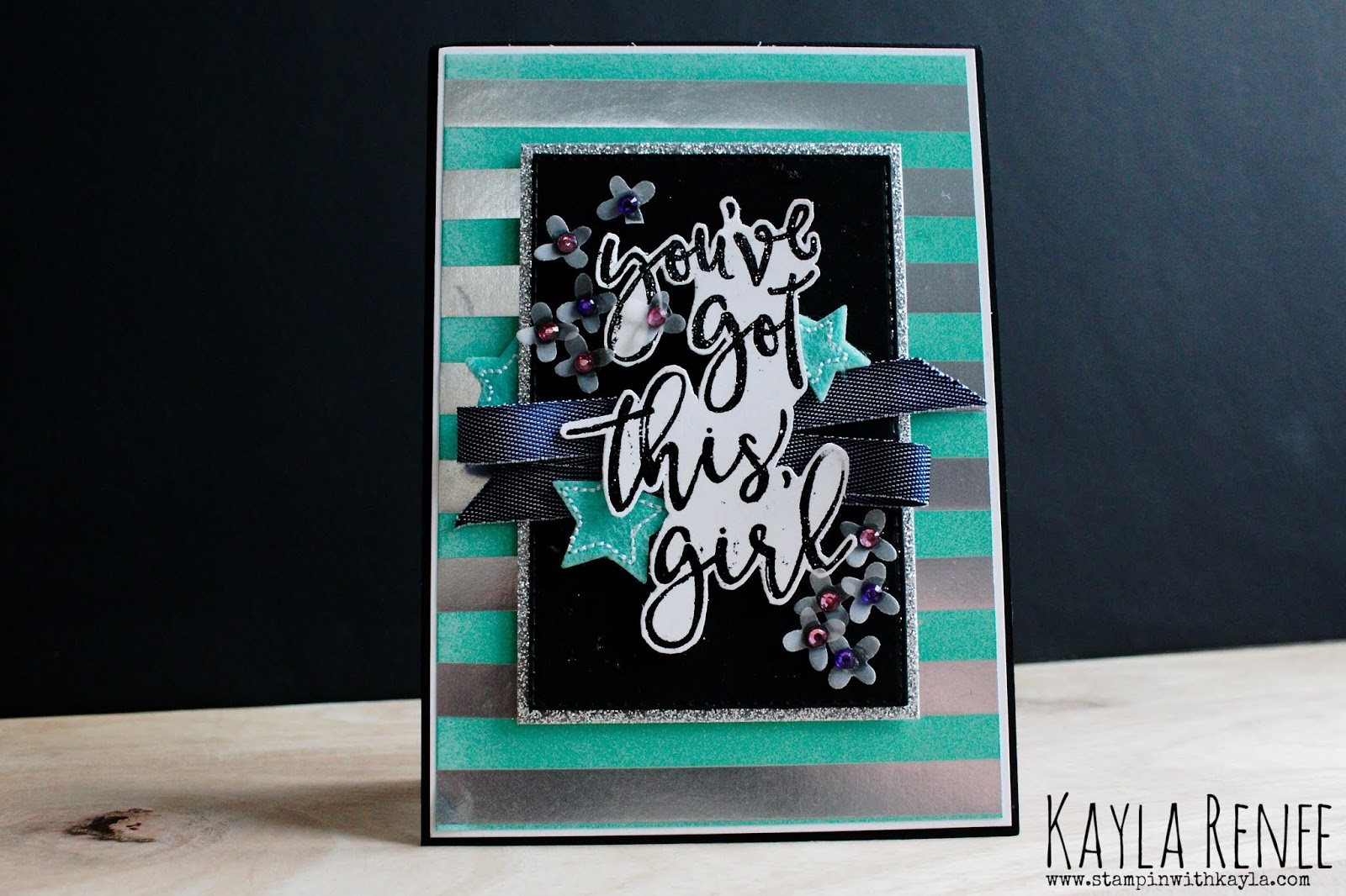 Here's To Strong Women ~ Encouragement Card