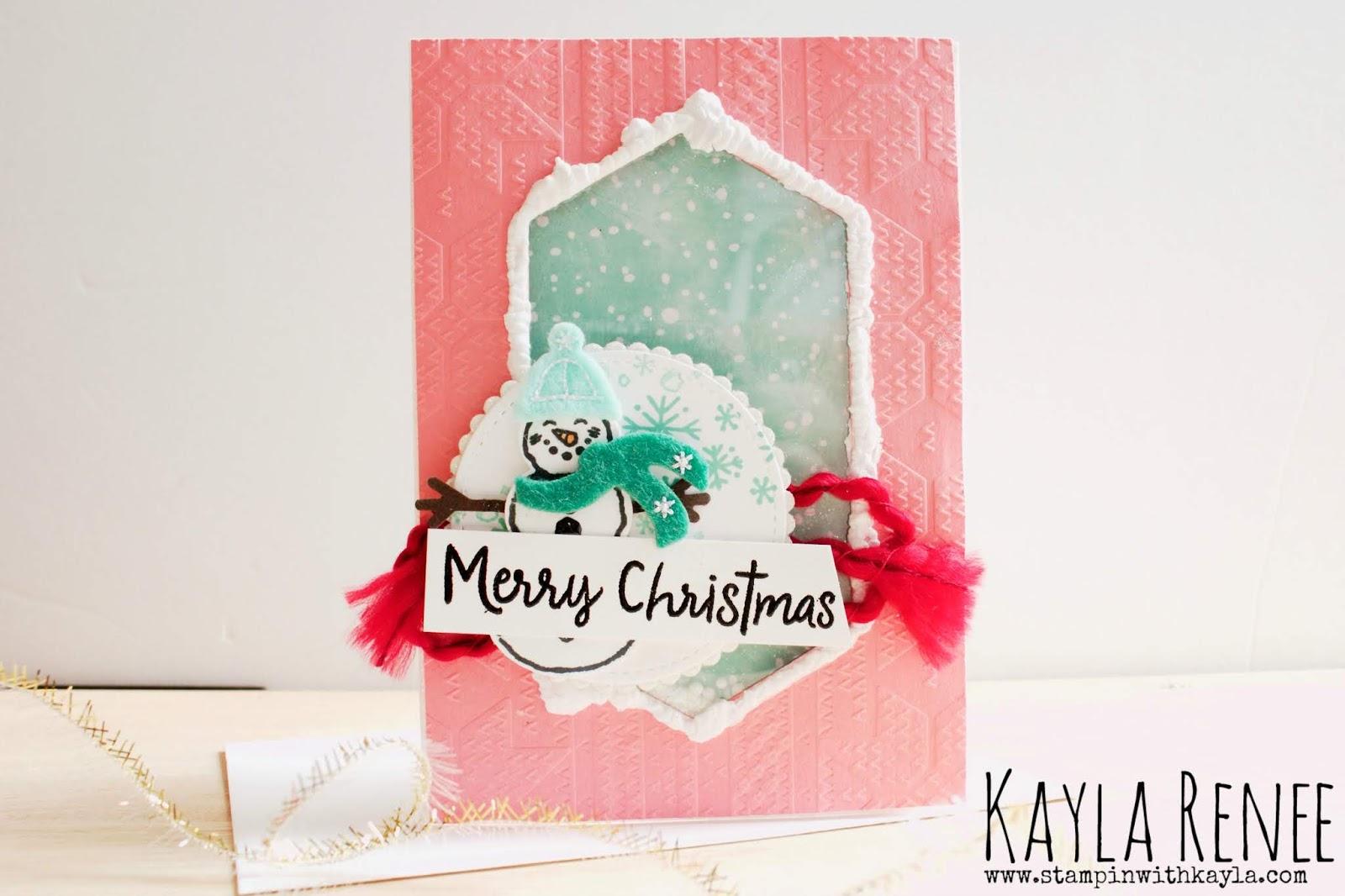 Snowman Season ~ Merry Christmas Card