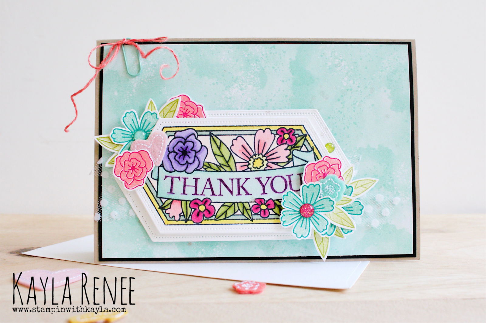 Believe You Can ~ Thank You Card