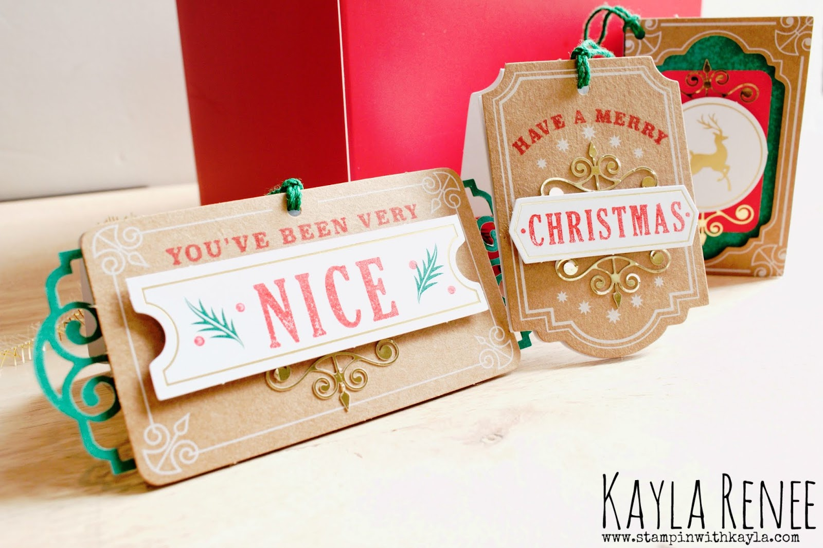 Joy of Giving ~ Tag Project Kit
