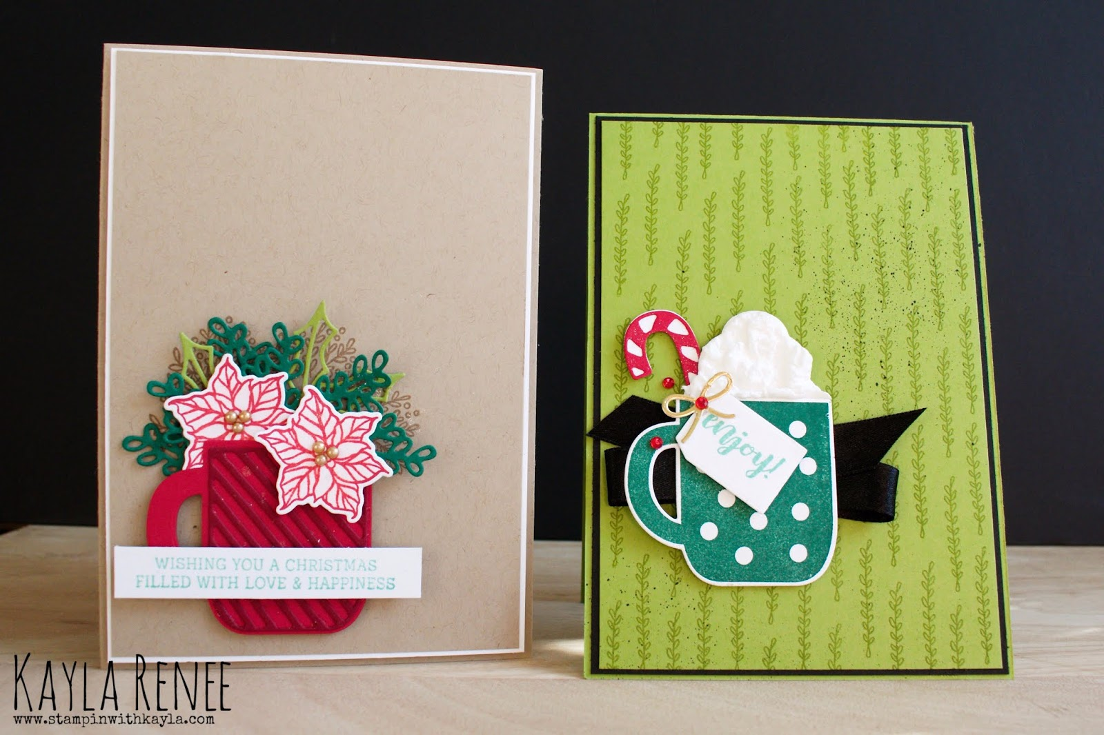 Cups of Christmas ~ Cards & Live Video