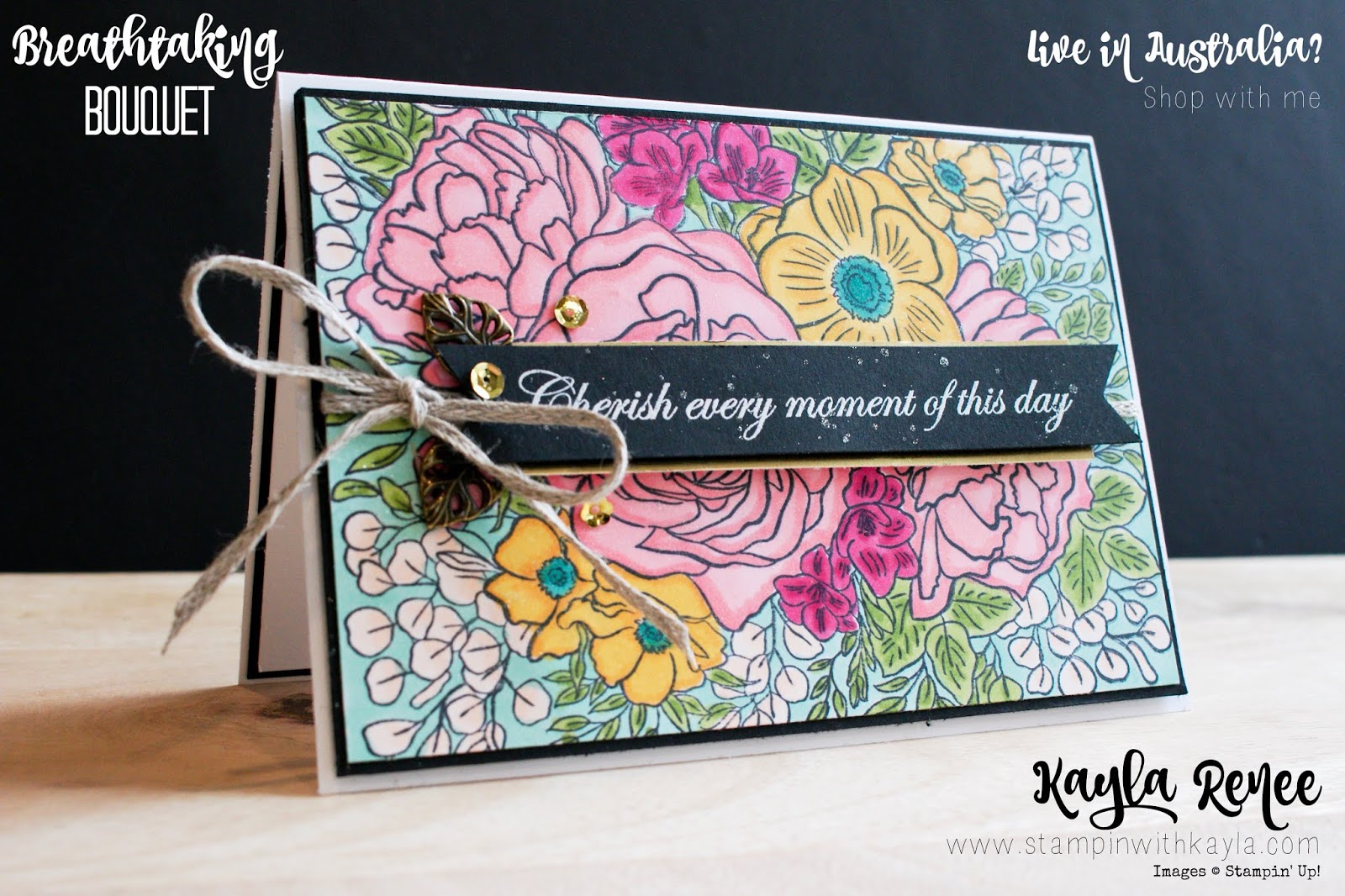 Breathtaking Bouquet & Stampin' Blends ~ Catalogue Sneak Peek
