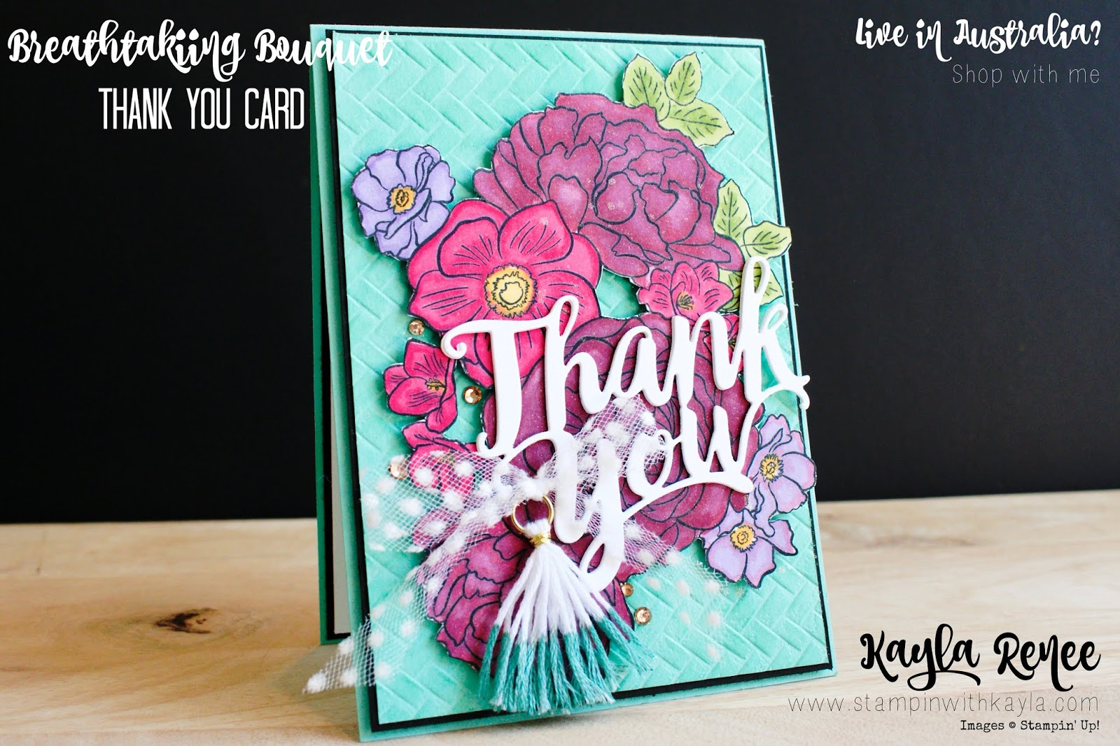 Breathtaking Bouquet ~ Thank You Card
