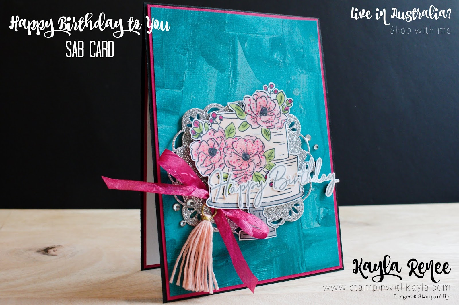 Happy Birthday To You ~ Sale-a-Bration FREE Stamp Set