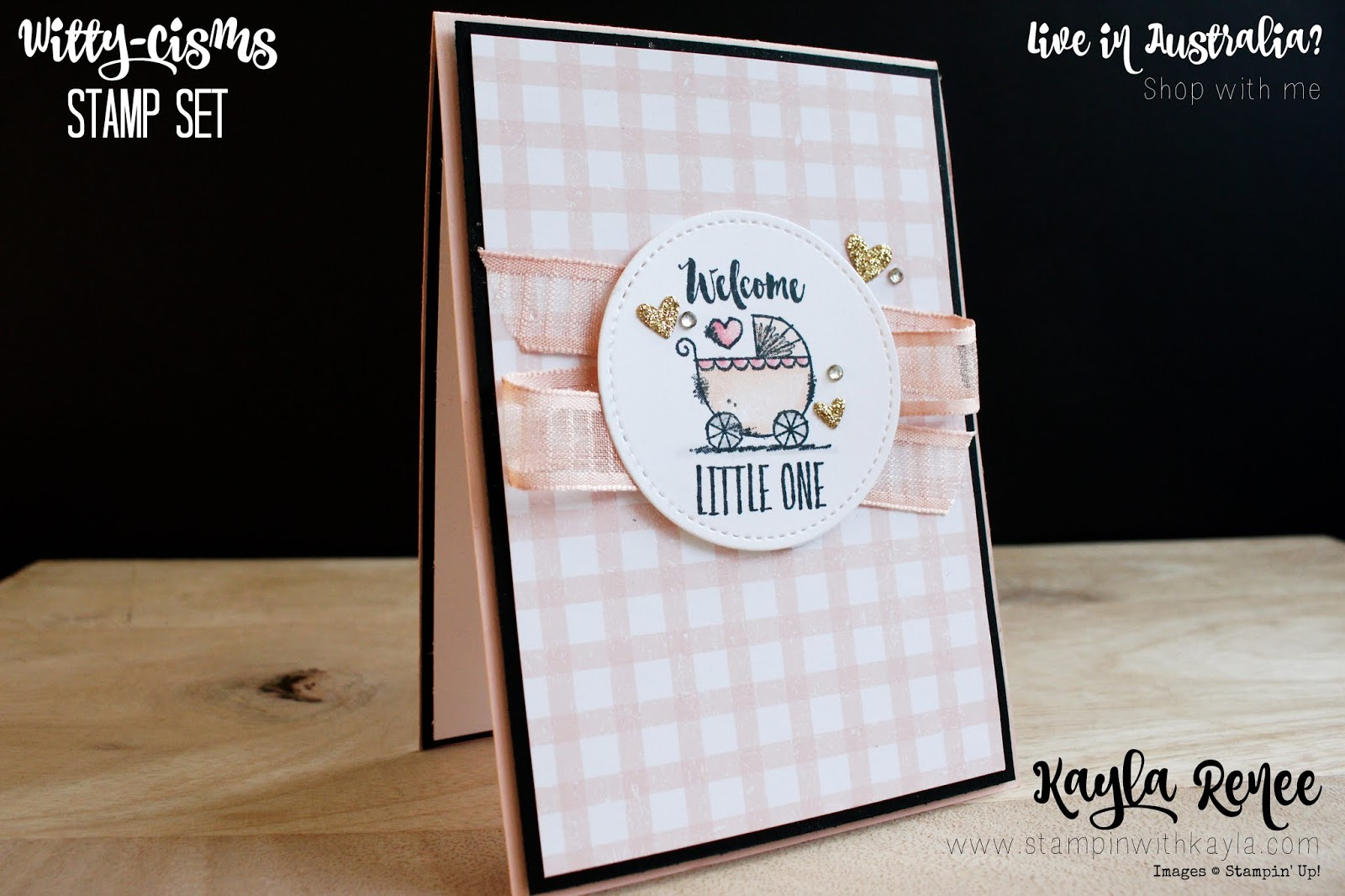 Witty-Cisms ~ Baby Girl Card