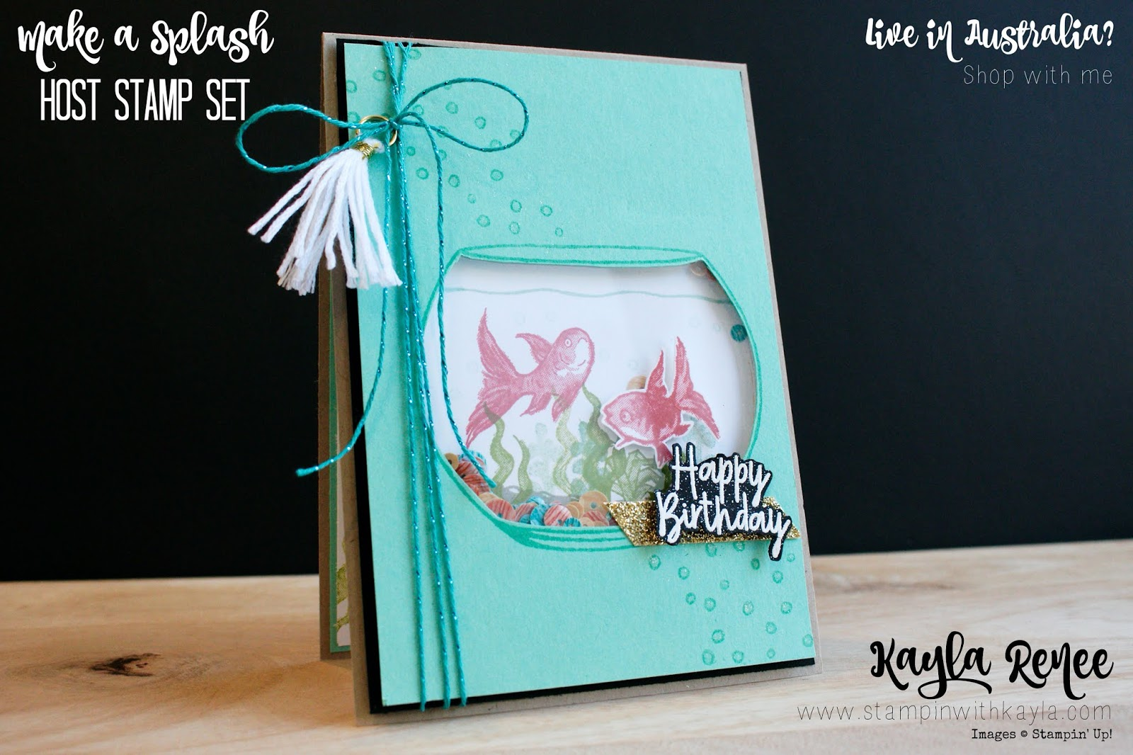 Make a Splash ~ Birthday Card
