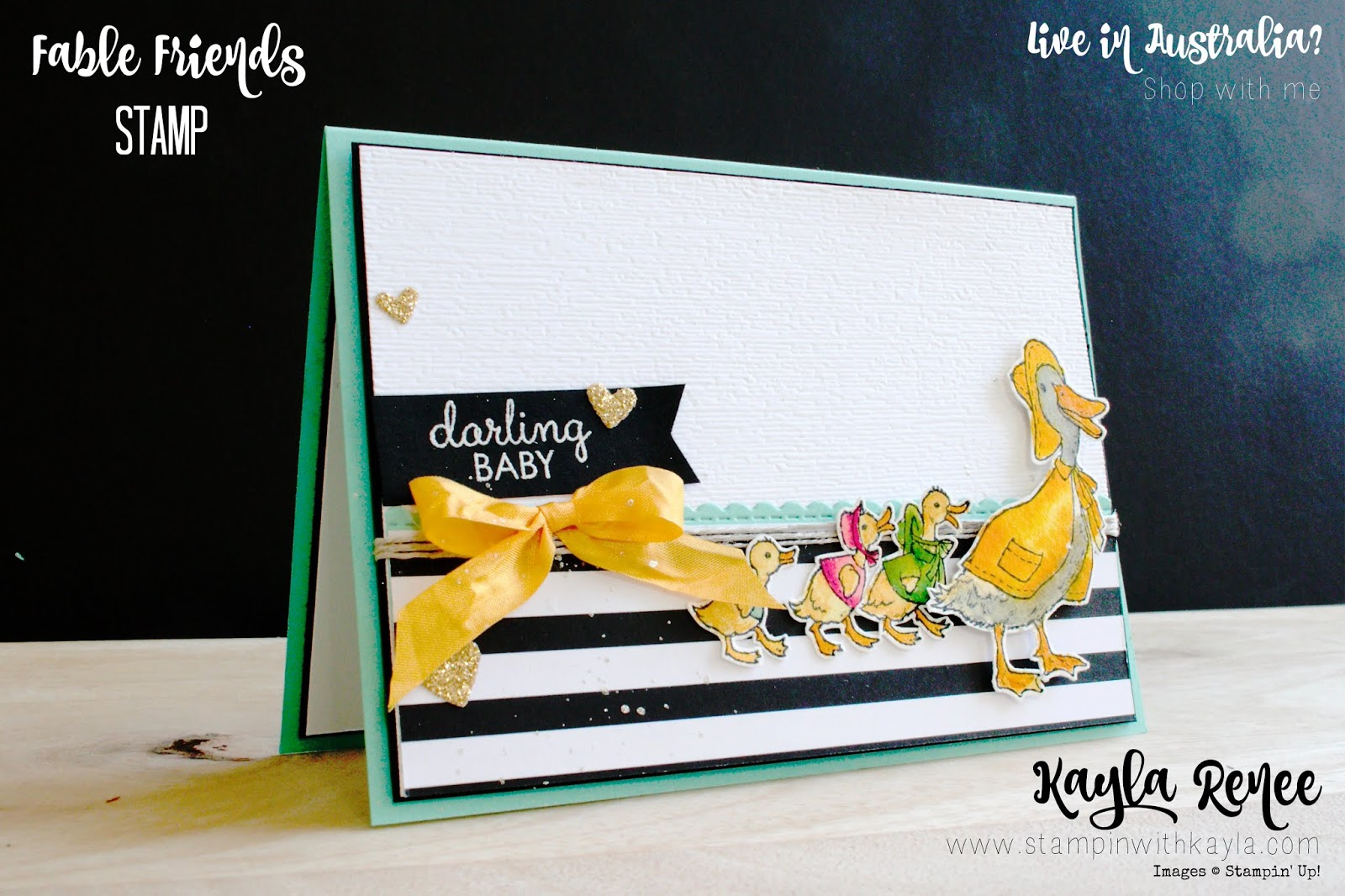 Fable Friends ~ Darling Baby Card