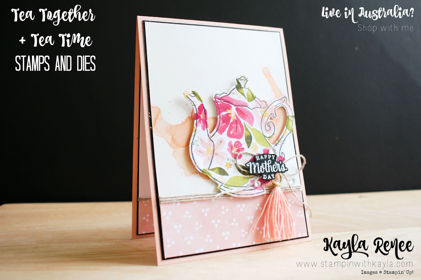Tea Together ~ Mother's Day Card
