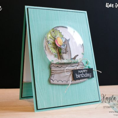 Stampin' Up! Zoo Globe ~ Kylie's International Winners Blog Hop