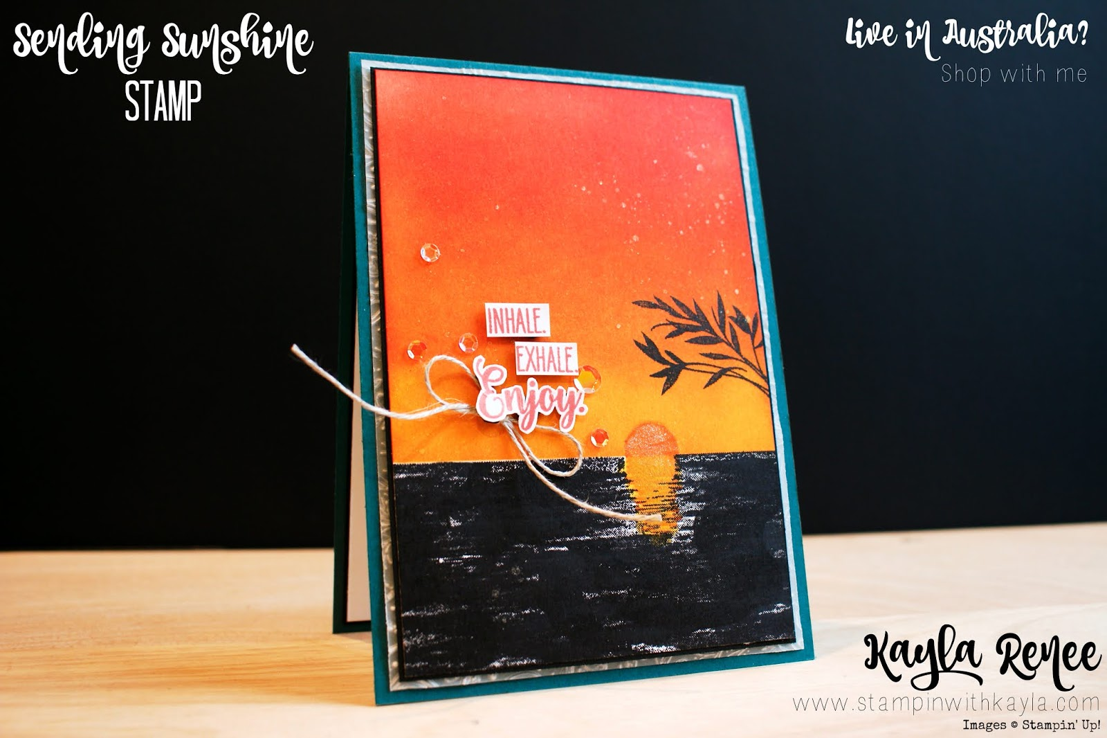 Stampin' Up! Sending Sunshine ~ Card