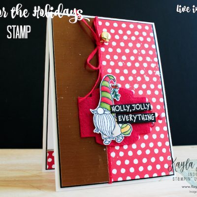 Stampin' Up! Gnome for the Holidays ~ #CardThree