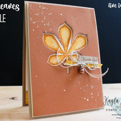 Stampin' Up! Love of Leaves – Paper Adventures Blog Hop