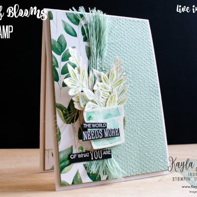 Stampin' Up! Basket of Blooms – Card #1