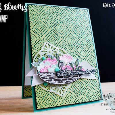 Stampin' Up! Basket of Blooms – Card #2