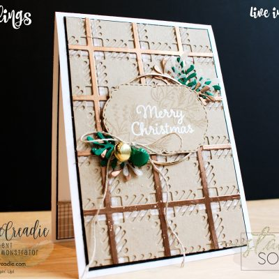 Stampin' Up! Plaid Tidings Suite ~ Stamping Society October