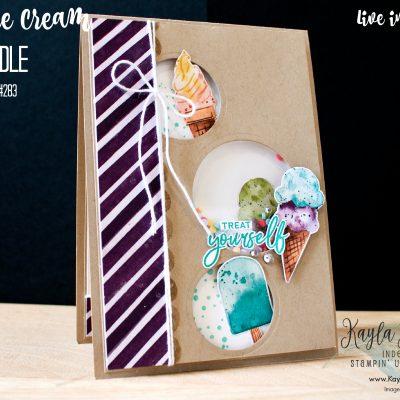 Stampin' Up! Sweet Ice Cream ~ #GDP283 Treats