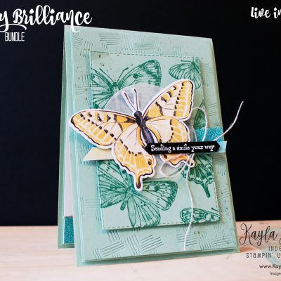 Stampin' Up! ~ Butterfly Brilliance ~ Sending a Smile