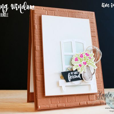 Stampin' Up! ~ Welcoming Window ~ Friendship Card