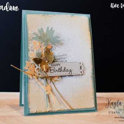 Stampin' Up! Quiet Meadow ~ Happy Birthday Card