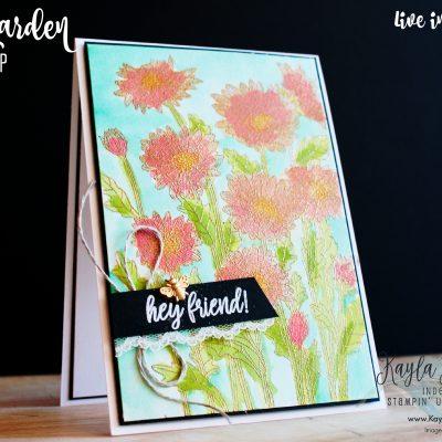 Stampin' Up! ~ Daisy Garden ~ Friendship Card