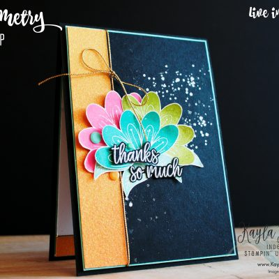 Stampin' Up! ~ In Symmetry ~ Thanks Card