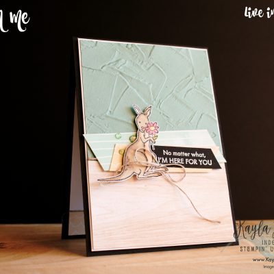 Stampin' Up! ~ Count on Me ~ Friend Card