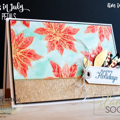 Stamping Society ~ July ~ Christmas In July ~ Blog Hop