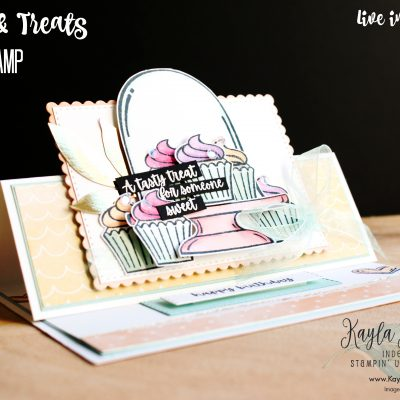 Stampin' Up! Sweets & Treats ~ Tent Fold Card