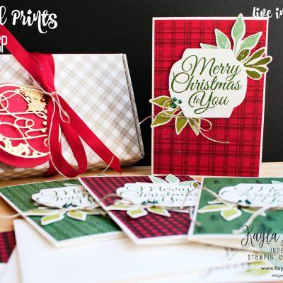 Stampin' Up! Peaceful Prints Designer Series Paper