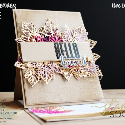 Stamping Society – October – Gorgeous Leaves – Blog Hop